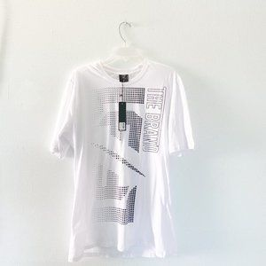 NEW LF THE BRAND White Graphic Tee NWT with tags